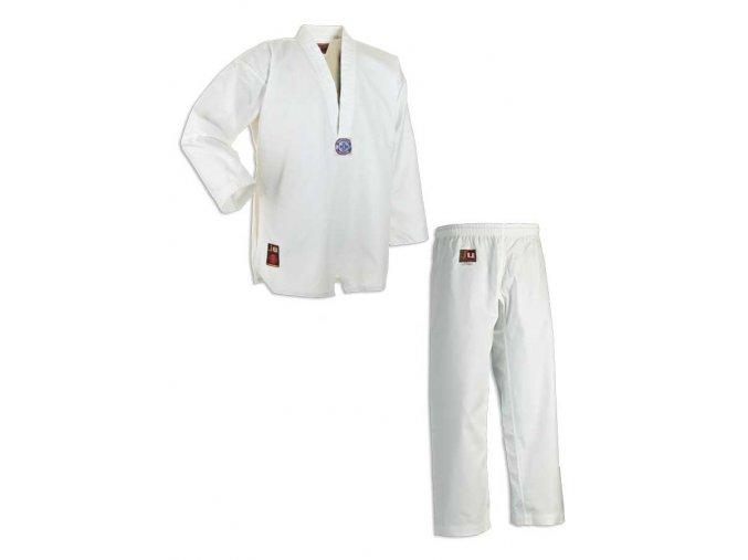 Dobok taekwondo CHAGI,  WTF střih včetně bílého pásku
