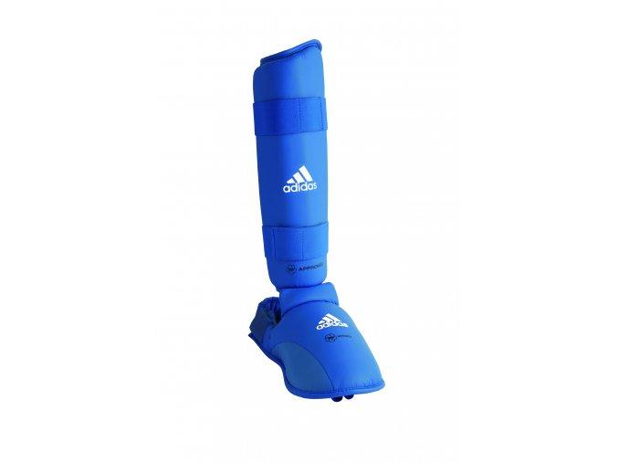 Chrániče holení a nártů na karate - Adidas WKF approved od 2015
