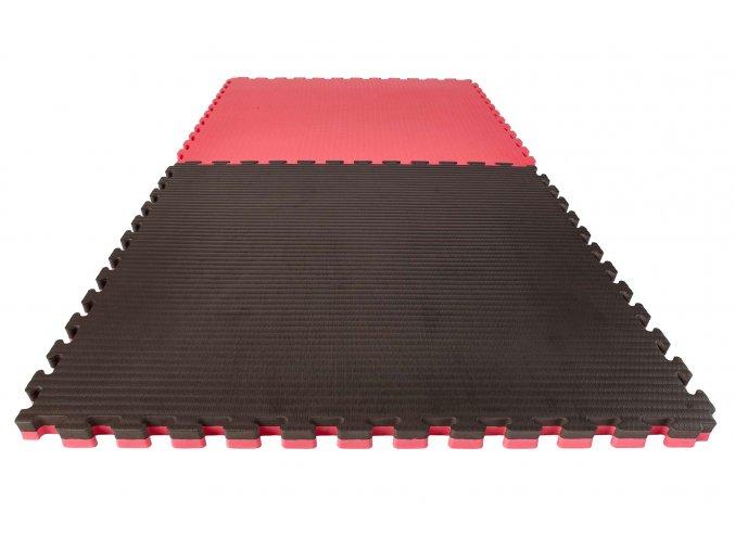 Tatami puzzle 4cm černo červená