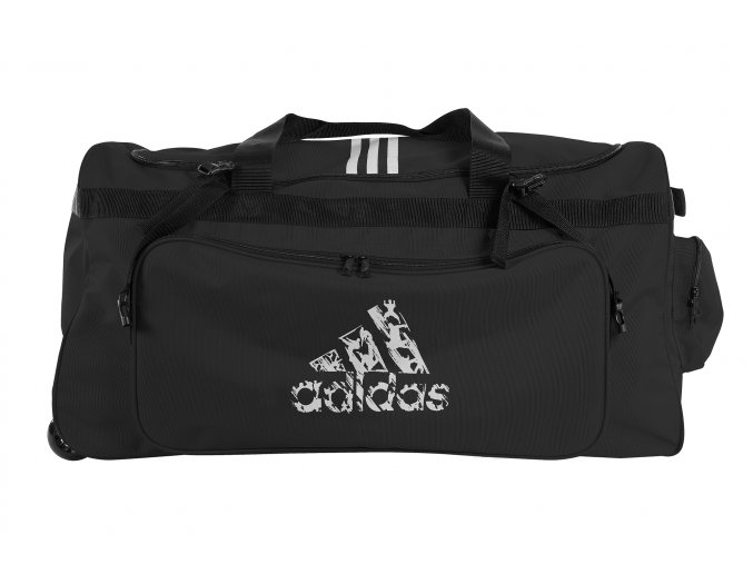 adidas taska na koleckach kombat černá