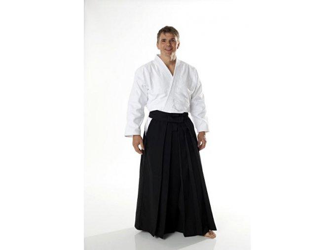 Hakama Aikido DAX model STANDARD ČERNÁ