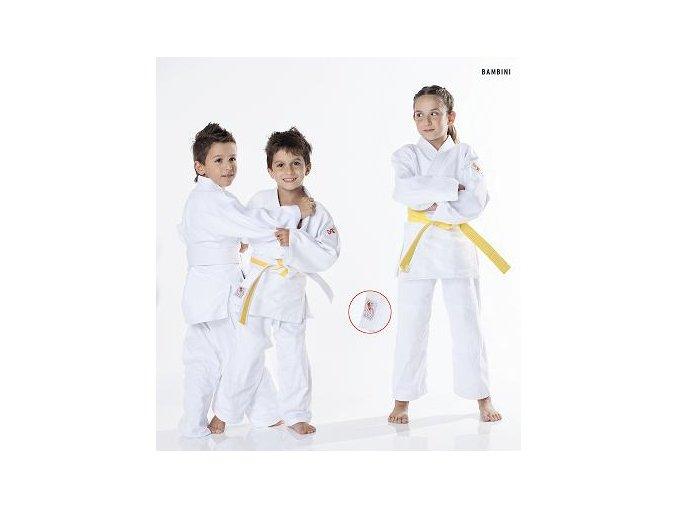 Kimono judo 380g DAX dětské - BAMBINI bílé včetně pásku