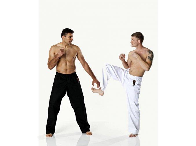 Kalhoty DAX KICK pro bojové sporty - bílé