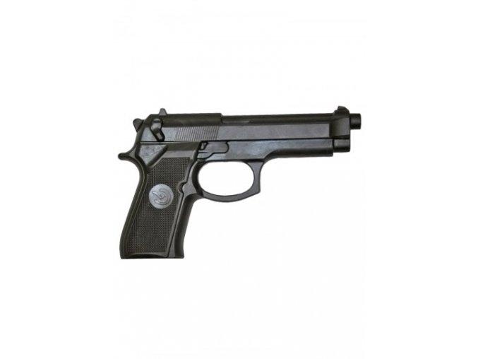 Gumová tréninková pistole