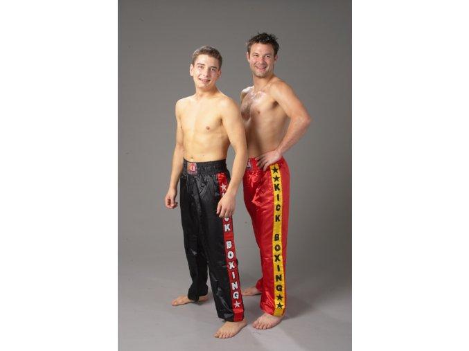 Kickbox kalhoty model KICK dětské i dospělé - černé