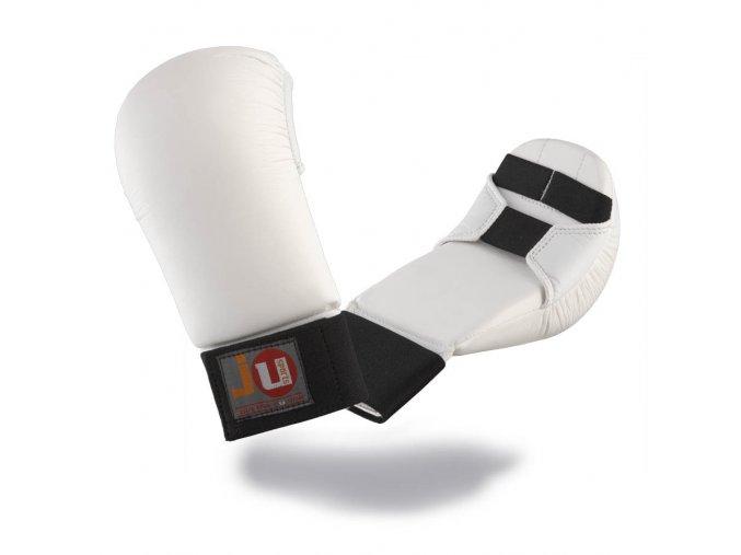RUKAVICE NA KARATE bílé - Chrániče na ruce karate