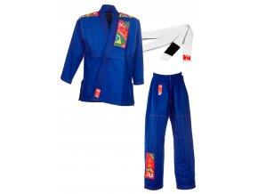 Dětské BJJ kimono Brazilian Jiu Jitsu - Kids bílé, černé