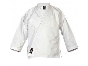 Kabát Element širší střih na sebeobranu, judo, aikido, bílý