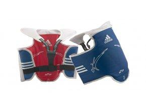 Taekwondo DĚTSKÁ oboustranná vesta ADIDAS WTF
