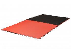 Tatami puzzle 2cm Grappling červená černá
