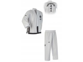 ITF DOBOK ADIDAS BLACK BELT CHAMPION