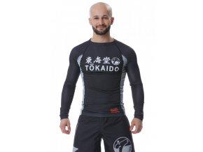 Tokaido karate rashguard černý