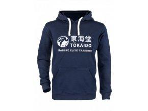 hoody kapuzen pullover tokaido athletic karate elite training blau 01 720x720