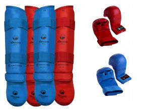 SET Chrániče NOHY a RUKAVICE na karate - SUPER CENA