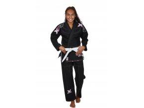 9261000 Ju Sports BJJ Gi Lady black pink