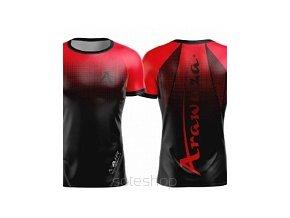 Arawaza DryFit TRIKO krátký rukáv červeno-černé