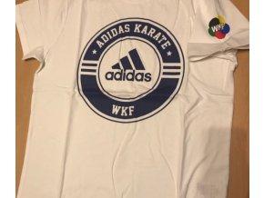 Adidas triko bílé