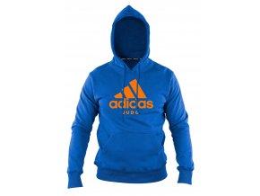 adiCHJ adidas community line hoodie judo blue orange 1