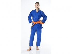 Kimono judo 450g DAX model KIDS - modré včetně pásku