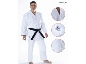 Kimono na judo DAX - model FUJI 570g - CENA včetně bílého pásku