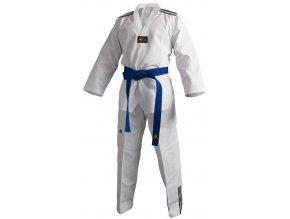 Taekwondo Dobok ADIDAS - model adiclub 3S bílý revers