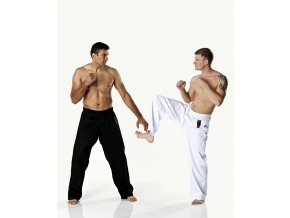 Kalhoty DAX KICK pro bojové sporty - černé