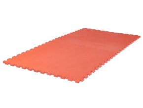 Tatami puzzle 1m x 1m x 2cm červená