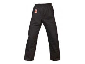 Kalhoty Brasilia černé s gumou
