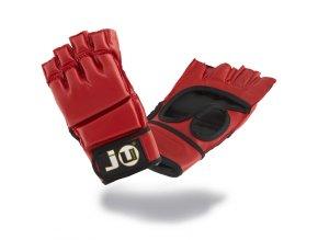 Rukavice na JIU JITSU / MMA model INTERMEDIATE červené