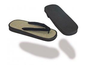 Pantofle ZORIS - rýžový rákos FLIP FLOP